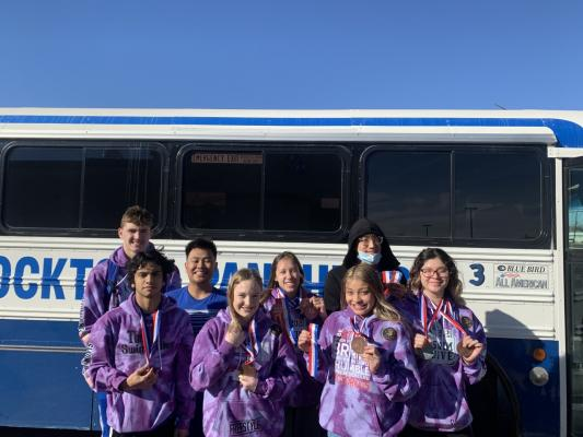 Eight of Fort Stockton's nine swimming and diving regional qualifiers